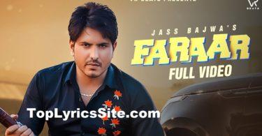Faraar Lyrics