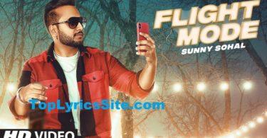 Flight Mode Lyrics