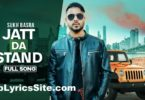 Jatt Da Stand Lyrics