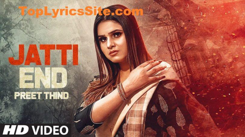 Jatti End Lyrics