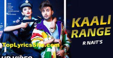 Kaali Range Lyrics
