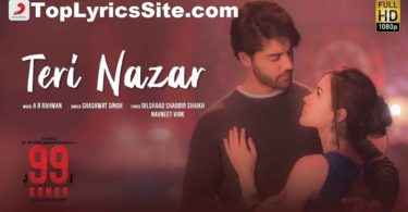 Teri Nazar Lyrics
