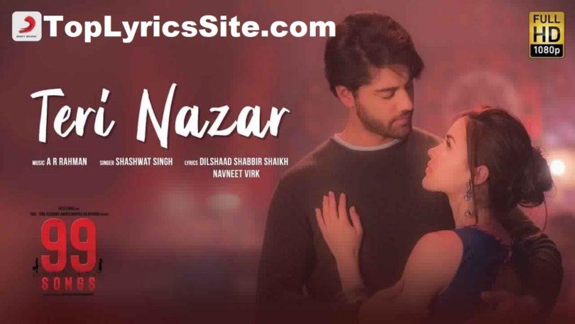 Teri Nazar Lyrics