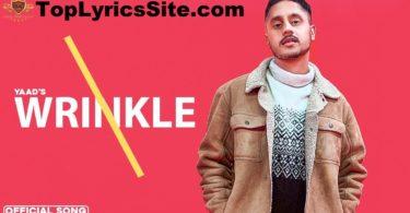Wrinkle Lyrics