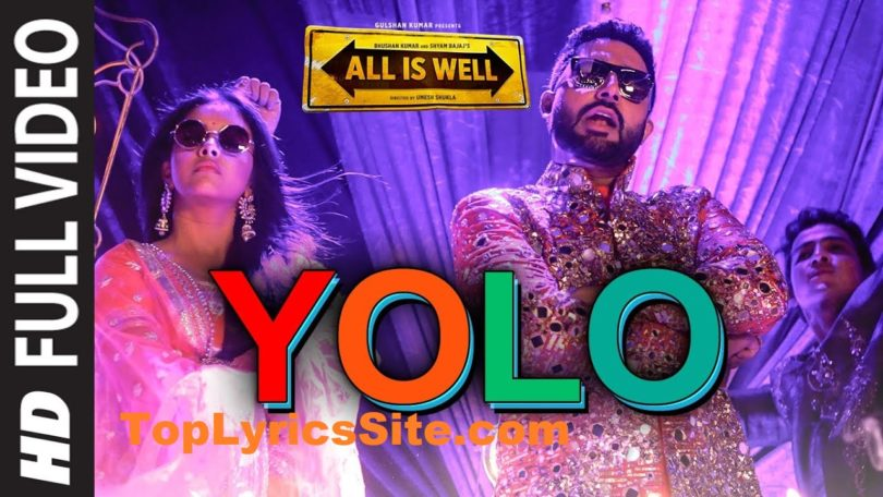 YOLO (You Only Live Once) Lyrics