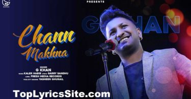 Chann Makhna Lyrics