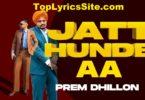 Jatt Hunde Aa Lyrics