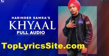 Khyaal Lyrics