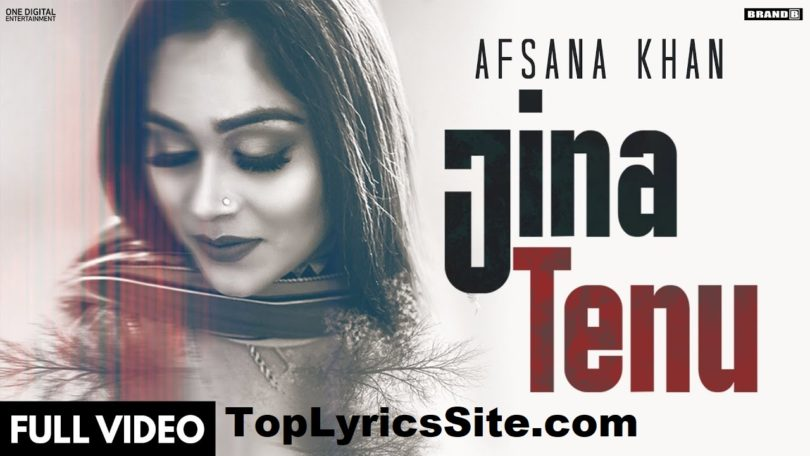 Jina Tenu Lyrics
