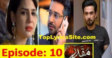 MUQADDAR Drama Review Story so far
