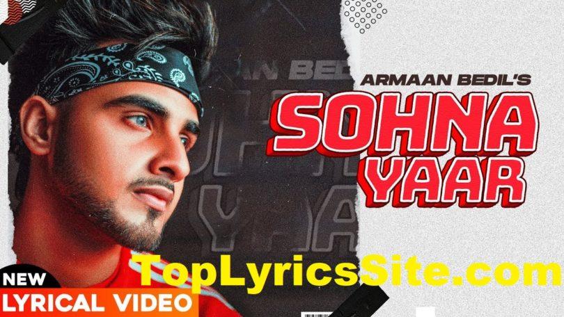 Sohna Yaar Lyrics