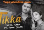 Tikka Lyrics