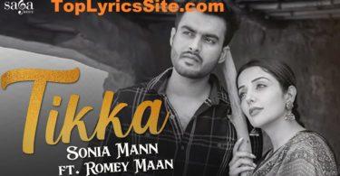 Tikka Lyrics