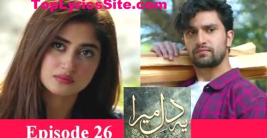 Ye Dil Mera Drama Review