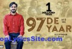 97 De Yaar Lyrics