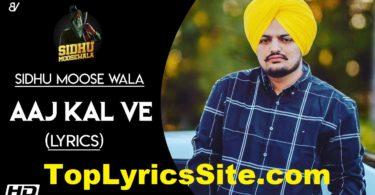 Aaj Kal Ve Lyrics
