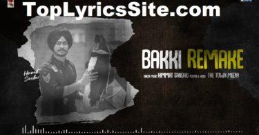 Bakki Remake Lyrics