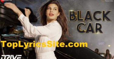 Black Car Lyrics