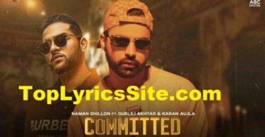Committed Lyrics