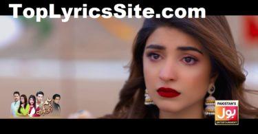 Hum Usi Kay Hain OST Lyrics