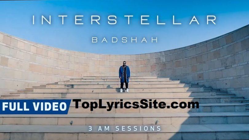 Interstellar Lyrics