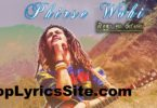 Phirse Wohi Lyrics