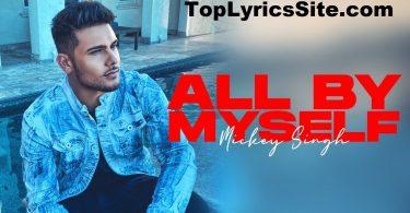 All By Myself Lyrics