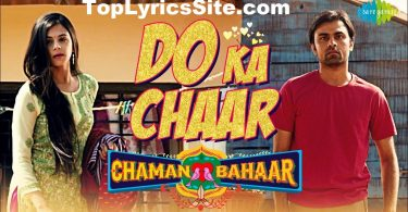 Do Ka Chaar Lyrics