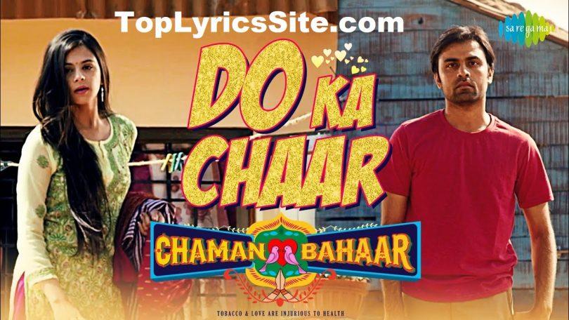 Do Ka Chaar Lyrics