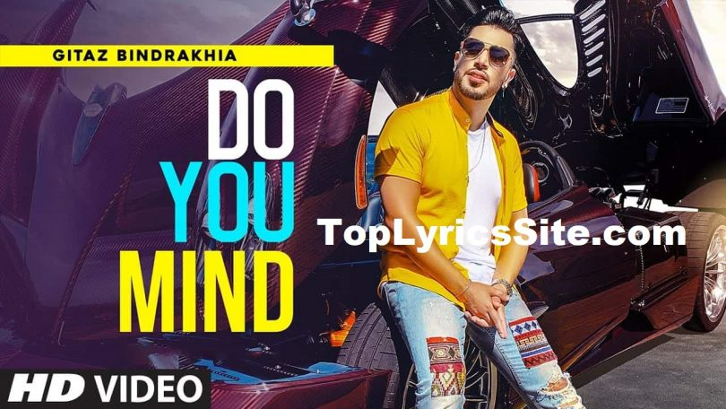 Do You Mind Lyrics
