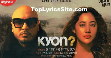 Kyon Lyrics