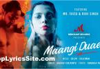 Maangi Duaein Lyrics