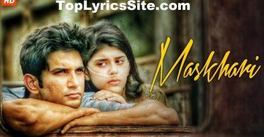 Maskhari Lyrics