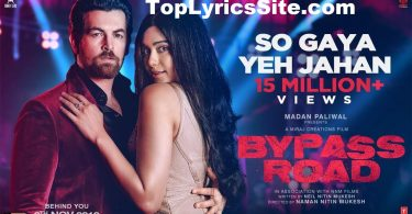 So Gaya Yeh Jahan Lyrics