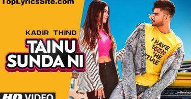 Tainu Sunda Ni Lyrics