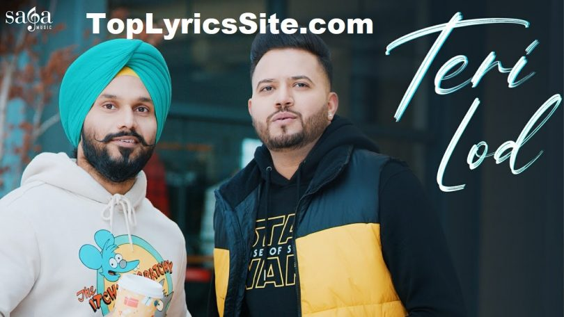 Teri Lod Lyrics