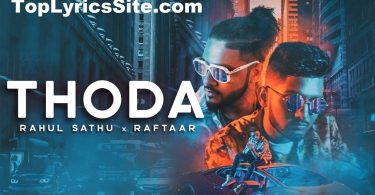 Thoda Lyrics