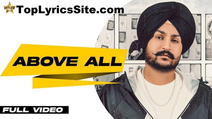 Above All Lyrics