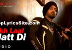 Akh Laal Jatt Di Lyrics