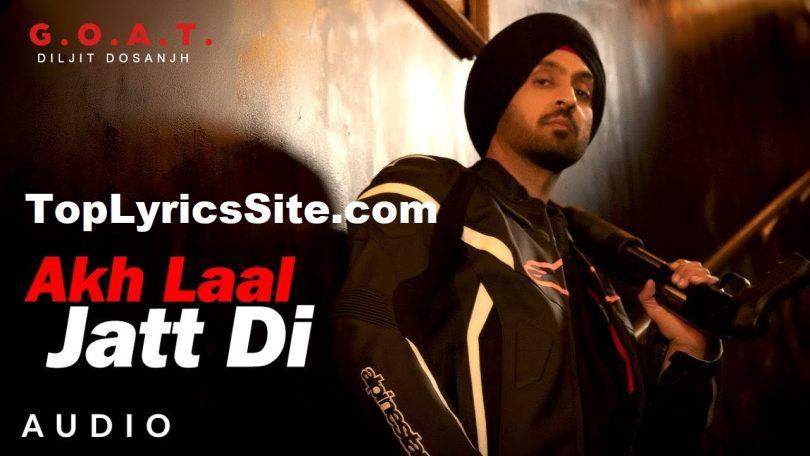Akh Laal Jatt Di Lyrics