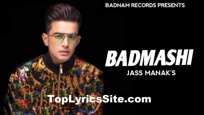 Badmashi Lyrics