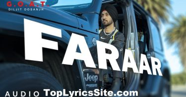 Faraar Lyrics