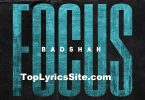 Focus Lyrics
