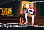 Gun De Brand Lyrics