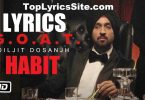 Habit Lyrics