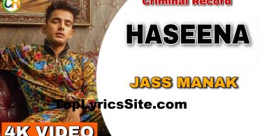 Haseena Lyrics