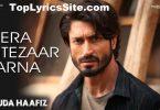 Mera Intezaar Karna Lyrics