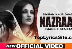 Nazraan Lyrics