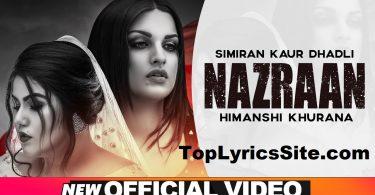 Nazraan Lyrics