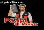 Paapi Munda Lyrics